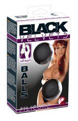 Вагинальные шарики на сцепке Black Velvets The Perfect Balls