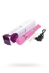 Вибромассажер, Magic Wand ,беспроводной, силикон, розовый, 32 см