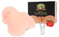 ALICE +, мастурбатор вагина и анус полуторс с вибрацией,ротацией