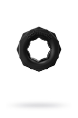 Эрекционное кольцо на пенис Bathmate Spartan, elastomex, чёрное, Ø4 см