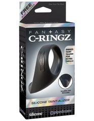 Эрекционное кольцо Fantasy C-Ringz Silicone Taint-Alizer - Black