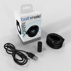 Эрекционное виброкольцо широкое Bathmate Vibe Ring - Stretch