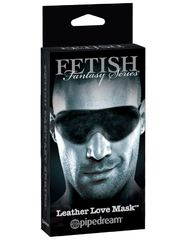 Маска на глаза Fetish Fantasy Series Limited Edition - Leather Love Mask