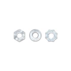 Набор эрекционных колец Renegade - Chubbies - Clear