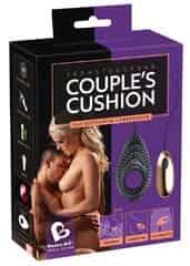 Универсальная вибро-игрушка для пар на пульте управления Couples Cushion