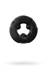 Эрекционное кольцо на пенис Bathmate Gladiator, elastomex, чёрное, Ø4,5 см