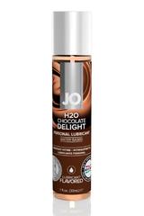 Ароматизированный лубрикант Шоколад на водной основе JO Flavored Chocolate Delight 1oz (30 мл)